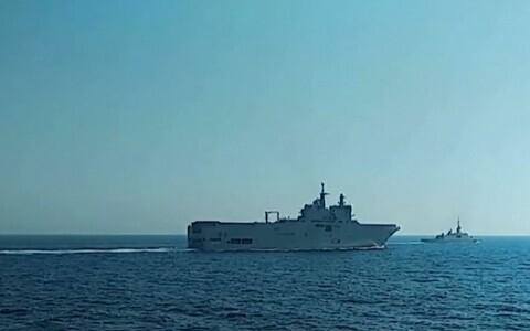 Франция усилит свое военное присутствие в восточном Средиземноморье из-за действий Турции.