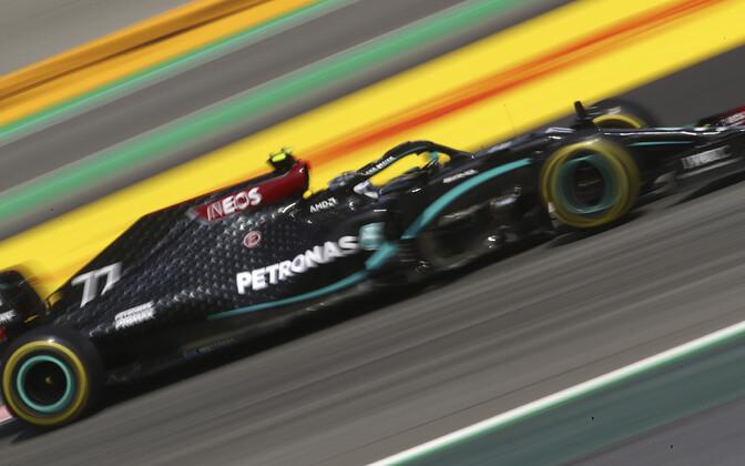 Valtteri Bottas Hispaania GP esimesel vabatreeningul
