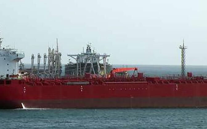 USA arestitud naftatanker Pandi.