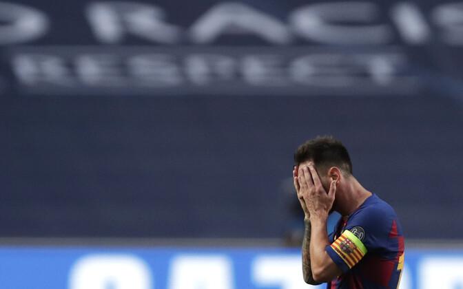 Pettunud Lionel Messi
