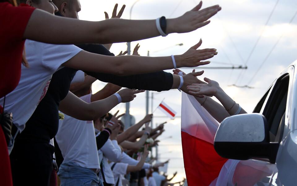 Митинг в Минске.