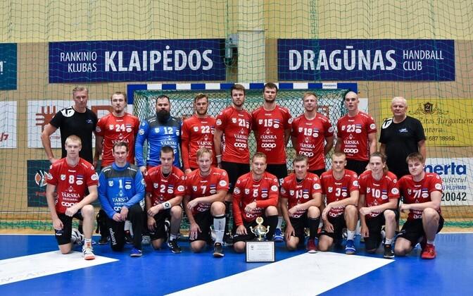 Põlva Serviti sai Leedus Klaipeda Cupil kolmanda koha.