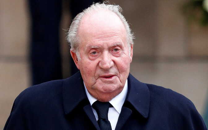 Hispaania endine kuningas Juan Carlos.