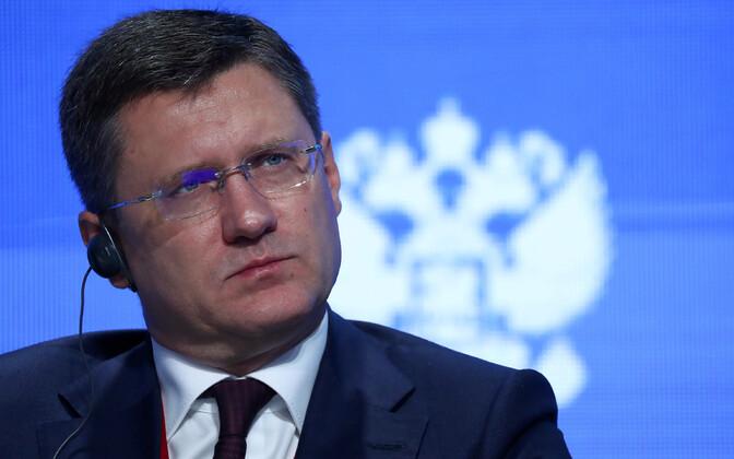Vene energeetikaminister Aleksandr Novak.