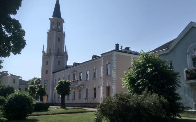 Центр Силламяэ знаменит своей архитектурой.