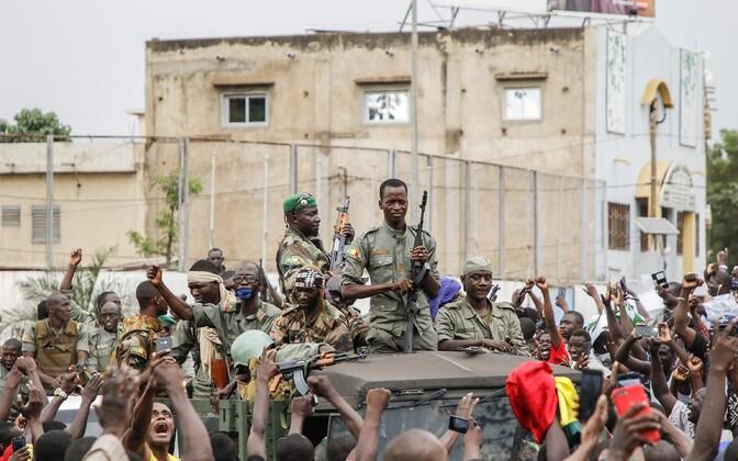 Мятежники в Бамако.