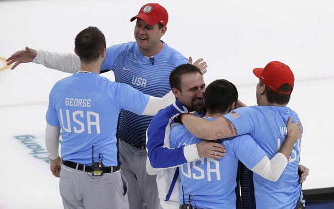 USA meeskond võitis 2018. aasta olümpial kulla.