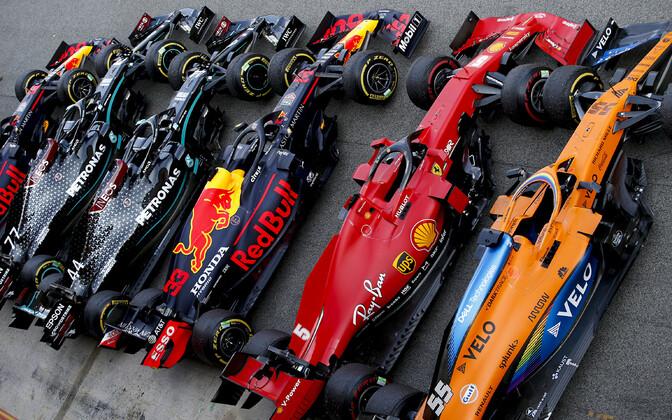 Vormelimasinad Hispaania GP eel