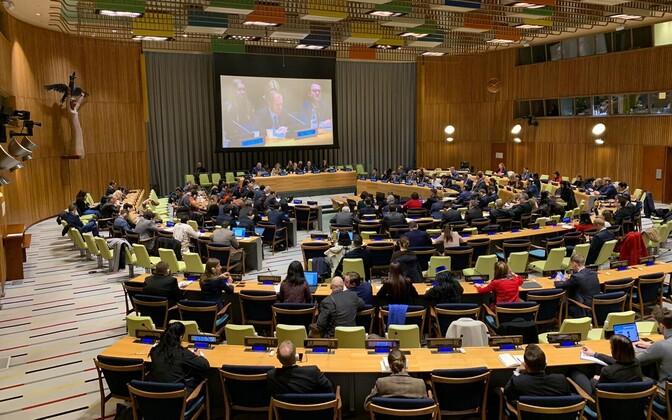 ÜRO Julgeolekunõukogu.