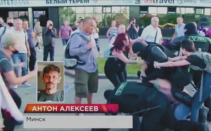 Журналист ERR Антон Алексеев.