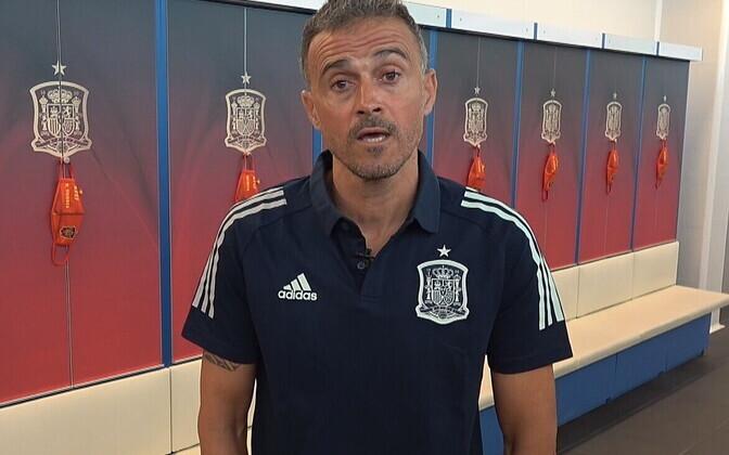 Hispaania jalgpallikoondise peatreener Luis Enrique
