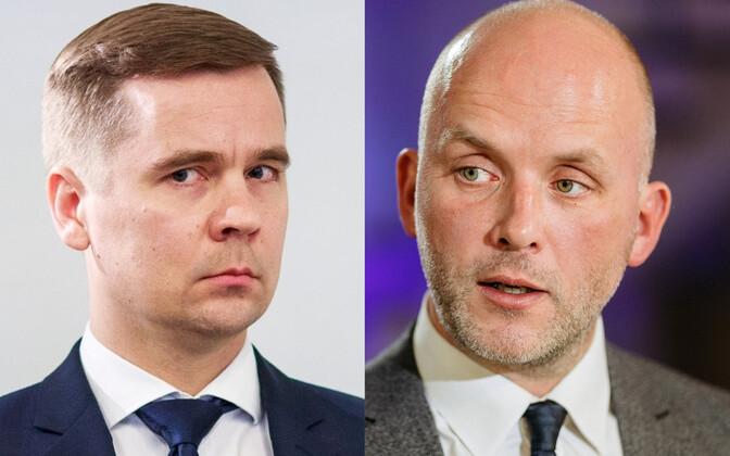 Mikk Marran (vasakul) ja Taimar Peterkop.