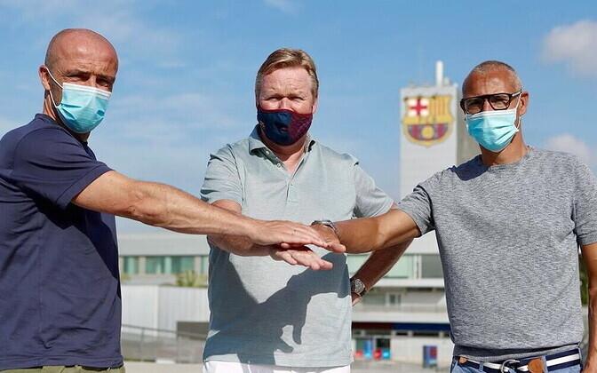 Alfred Schreuder, Ronald Koeman ja Henrik Larsson