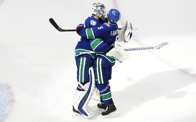 Vancouver lülitas Stanley karikavõistlustel tiitlikaitsja konkurentsist