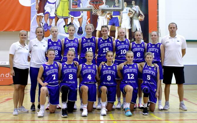 Eesti neidude U-15 korvpallikoondis