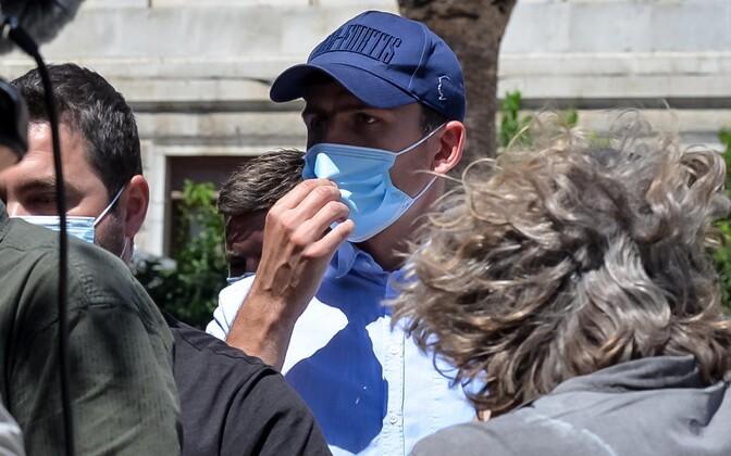 Vahi alt vabastatud Harry Maguire Kreekas