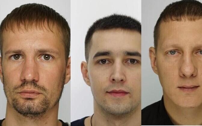 Roman Gluhovtšenko, Maksim  Vasiliev ja Ilja Gaidalenko.