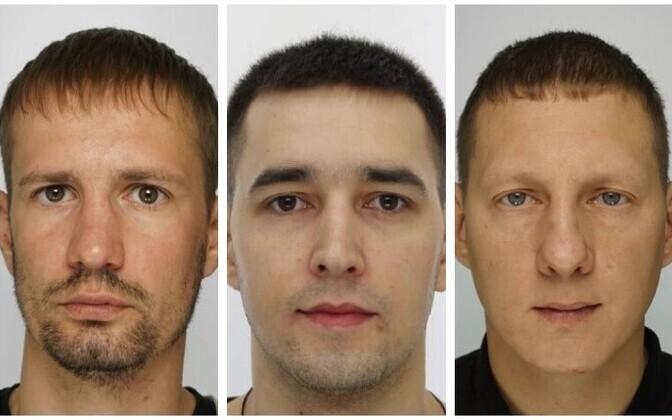 Подозреваемые в убийстве Роман Глуховченко, Максим Васильев и Илья Гайдаленко.