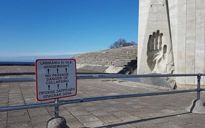 Мемориальному комплексу на Маарьямяги требуется реновация.