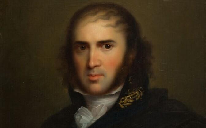 Johann Karl Simon Morgenstern. Portree. Karl von Kügelgen (1772–1831).