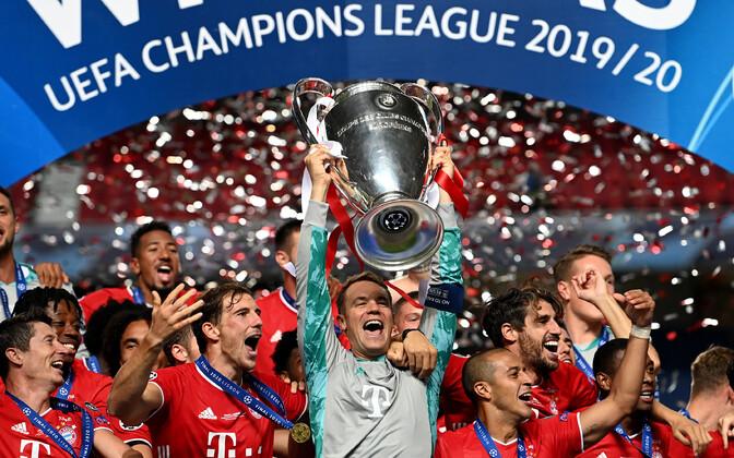 Müncheni Bayern Meistrite liiga trofeega