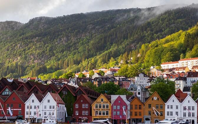 Норвегия. Иллюстративная фотография.