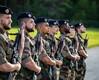 Prantsusmaa kaitseväe juhataja saabumine Ämarisse.