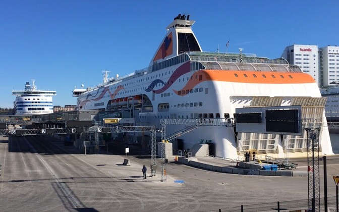 Паром Baltic Queen. Tallink.