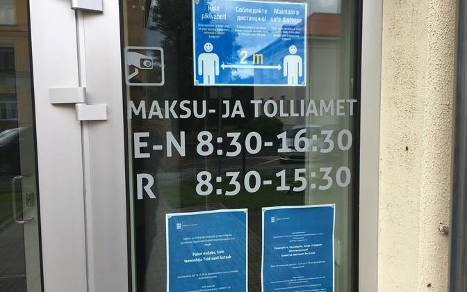 MTA Jõhvi teenindusbüroo.
