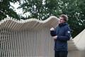 Tallinnas Rumbi tänaval avati EKA arhitektuuritudengite varjualine