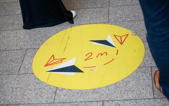 Koroonatestimine lennujaamas