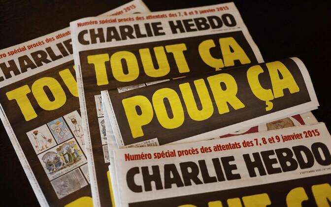 Спецвыпуск Charlie Hebdo вышел под заголовком