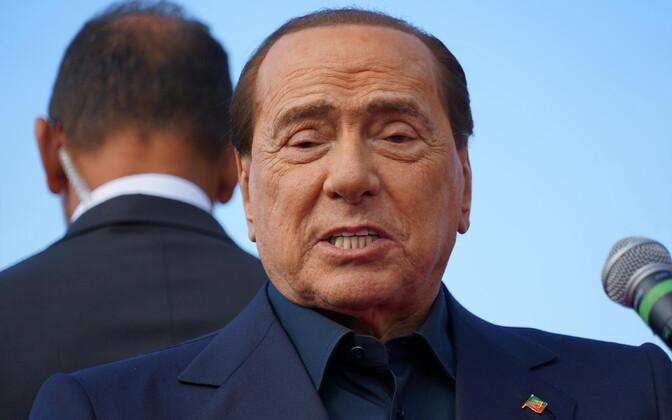 SIlvio Berlusconi jaanuarikuus.