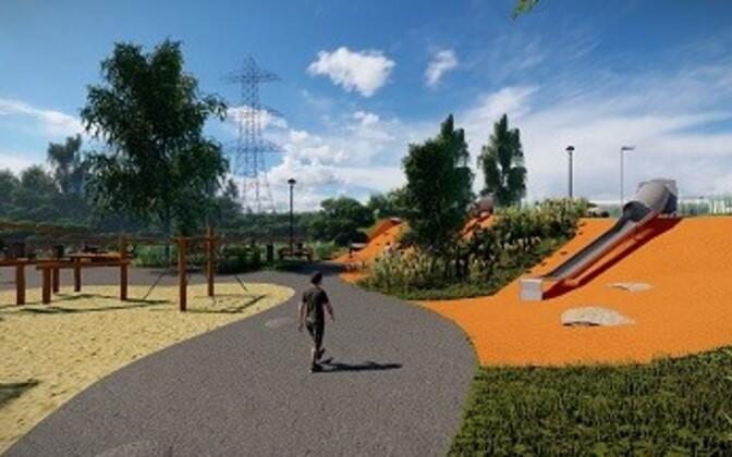 Проект парка Тондираба.