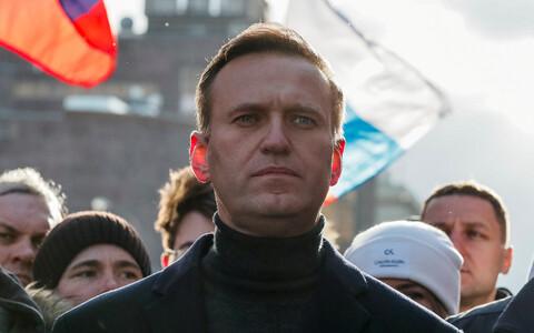 Aleksei Navalnõi veebruarikuus Moskvas.
