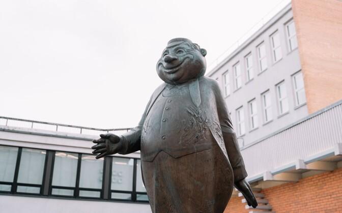 Statue of TalTech mascot