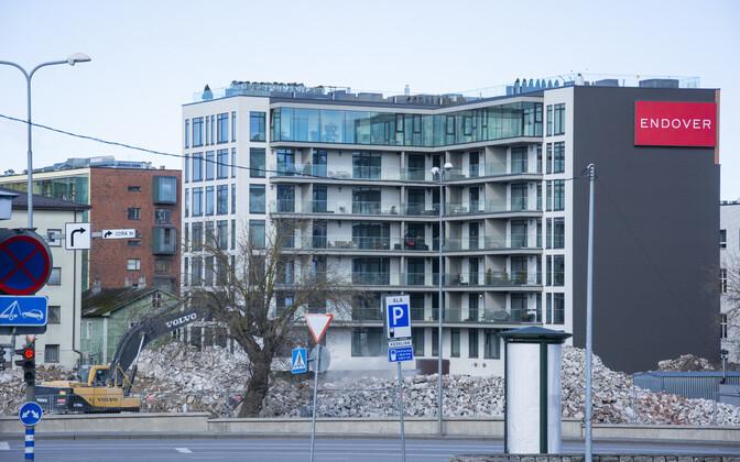 В Таллинне повышается спрос на строящееся жилье. Иллюстративная фотография.
