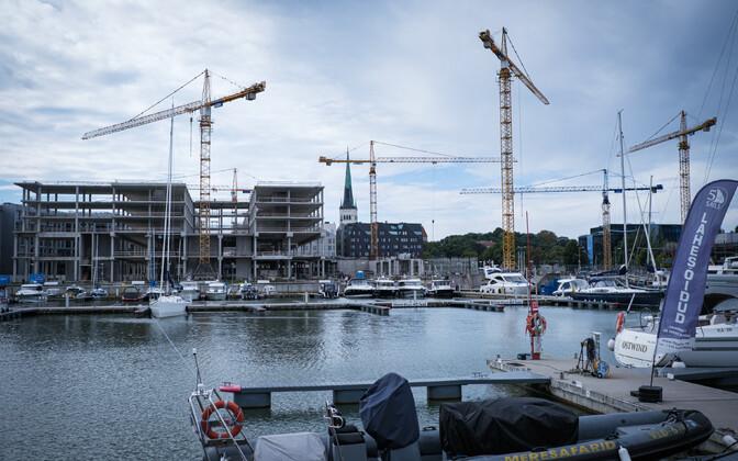 The Porto Franco real estate development in Tallinn.