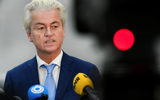 Geert Wilders intervjuud andmas.