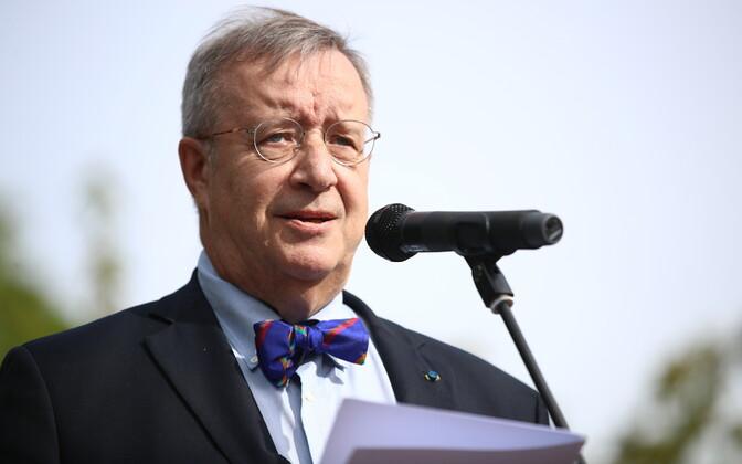 Тоомас Хендрик Ильвес будет читать лекции в Тарту.