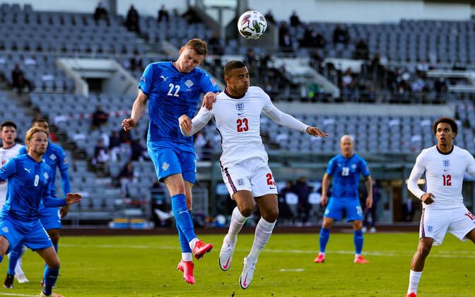 Jalgpalli Rahvuste liiga: Island - Inglismaa
