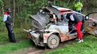 Takamoto Katsuta masin pärast avariid