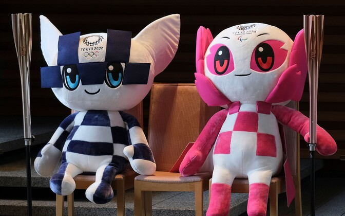 Tokyo olümpiamaskotid