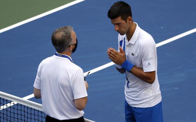 Soeren Friemel ja Novak Djokovic