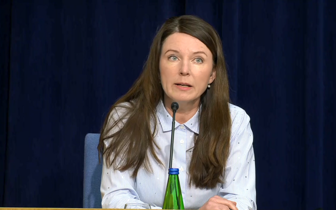 Ester Öpik, chief of the Health Board's northern region.