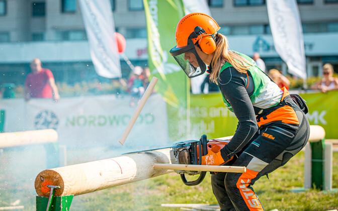 Eesti parim naisraiesportlane Karina Riive