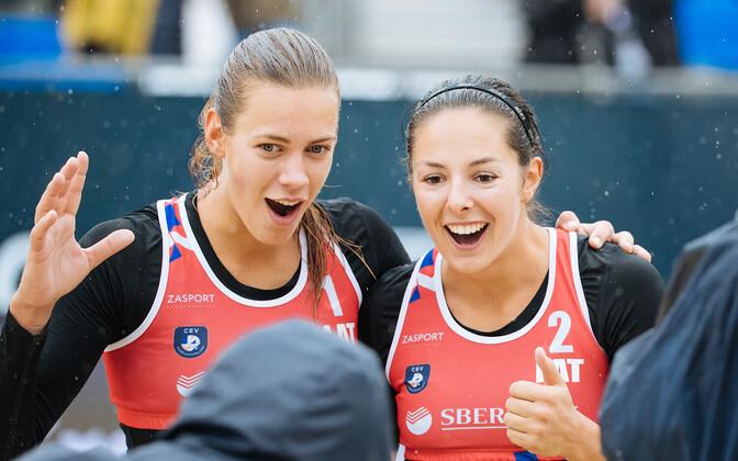 Tina Graudina (vasakul) ja Anastasija Kravcenoka