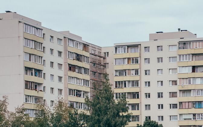 Многоквартирный дом. Иллюстративная фотография.
