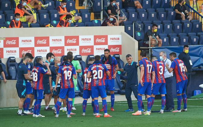 Eibari mängijad eelmise hooaja kohtumises Villarrealiga