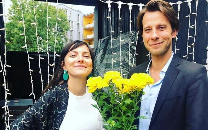 Züleyxa Izmailova and Kaspar Kurve.